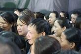 Thanh Hoá: Người dân nghẹn ngào đón liệt sỹ hi sinh trong vụ rơi trực thăng