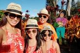 Gia đình Thúy Hạnh đến Hawaii kỷ niệm 10 năm ngày cưới