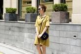 Đầm suông công sở mát lạnh cho nàng U30 che khuyết điểm ngày hè