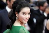 Lý Nhã Kỳ làm 'công chúa tóc mây' trên thảm đỏ Cannes