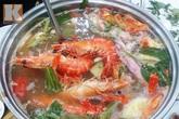 Xì xụp lẩu hải sản Hào Nam ngày gió rét