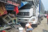 Tai nạn liên hoàn, xe tải lao vào nhà dân