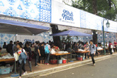 Tấp nập ngày hội sách Việt Nam lần 3 tại Hà Nội