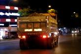 Xe tải chở đất lộng hành ở Huế: Sẽ tiến hành kiểm tra và xử lý