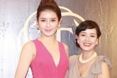 """Tuổi """"xế chiều"""", diễn viên Chiều Xuân vẫn tự tin đọ sắc bên Á hậu Huyền My"""