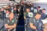 Phi cơ chở 81 người rơi xuống Colombia