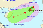 Tin mới nhất về bão số 6: Giảm cấp, áp sát quần đảo Hoàng Sa