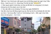 Hà Nội: Công an lên tiếng về 2 trẻ em bị bắt cóc ở chợ Triều Khúc