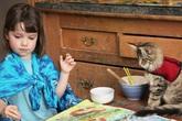 Mèo đã giúp một bé gái 6 tuổi thoát khỏi bệnh tự kỷ
