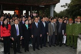 Kỷ niệm 225 năm ngày mất Hải Thượng Lãn Ông Lê Hữu Trác: Đón nhận Bằng Di tích Văn hóa phi vật thể cấp Quốc gia