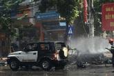 Vụ nổ taxi ở Quảng Ninh: Khách đi xe ôm mìn tự sát vì chán nản