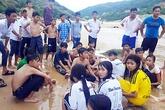 Nhóm thầy giáo Đại học An ninh cứu 3 học sinh đuối nước