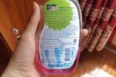 Xà phòng diệt khuẩn chứa chất cấm gây hại như thế nào?