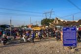 Giải tỏa chợ tự phát dưới đường điện cao thế ở Bình Dương: Lo cho tính mạng người dân