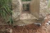 Huyện Định Hóa, Thái Nguyên: Công trình đập tràn vừa xây xong đã xuống cấp