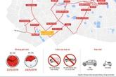 Di chuyển ở Hà Nội theo tuyến nào để tránh đường cấm?