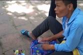 Giả chân hoại tử để xin tiền tái xuất trên đường phố Hà Nội