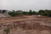 Thái Nguyên: Ngang nhiên đổ đất lấp kè đê sông Cầu gây tắc dòng chảy