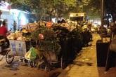 Điểm tập kết rác trên đường Hoàng Văn Thái gây bức xúc
