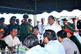 Vụ chìm tàu khiến 56 người gặp nạn ở Đà Nẵng: Thủ tướng đến hiện trường chỉ đạo công tác cứu nạn