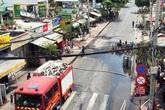 Vụ phóng hỏa đốt cửa hàng gas ở TP Hồ Chí Minh: May cho dân là cây xăng an toàn