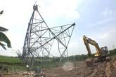 Chính phủ chỉ đạo truy trách nhiệm vụ đổ cột điện 500kV