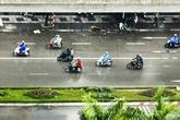 Đón không khí lạnh, Hà Nội mưa dông lớn