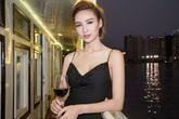 Hoa hậu Ngọc Diễm gày gò vì làm việc kiệt sức