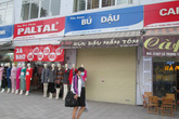 Hà Nội: Quảng cáo kiểu mẫu ở phố Lê Trọng Tấn lem nhem trở lại