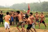 Về làng quê bên sông Lam xem hội vật cù
