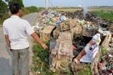 Hải Dương: Hàng chục chiếc quan tài bị bỏ ven đường
