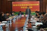 Đoàn công tác của Tổng cục DS-KHHGĐ làm việc tại Cao Bằng
