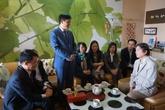 Đoàn Bộ Y tế thăm nhà cố GS Đặng Văn Ngữ