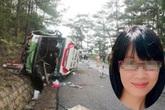 Học trò tiếc thương 3 cô giáo trẻ tử nạn trong vụ tai nạn thảm khốc trên đèo Prenn