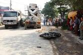 Tránh vũng nước, một phụ nữ bị xe bồn cán chết