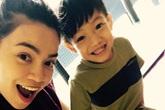 Hà Hồ gây sốt khi trò chuyện với con trai bằng tiếng Anh