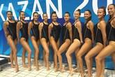 Hai nữ sinh gốc Việt xuất sắc trong đội tuyển bơi nghệ thuật Hungary