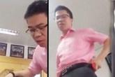 Học viên bị hiệu trưởng đứng lên bàn chửi bậy đòi đối chất công khai
