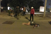Hà Nội: Siêu xe tông đôi nam nữ bắn xa hàng chục mét