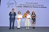 Vinh danh các nhà khoa học nữ xuất sắc Việt Nam năm 2016