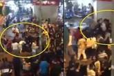 Hà Nội: Mâu thuẫn trên Facebook, hàng chục thanh thiếu niên hỗn chiến ở phố đi bộ