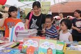 Hàng nghìn em nhỏ hào hứng tham gia Hội sách Thiếu nhi 2016
