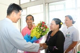 Ông Huỳnh Văn Nén khỏe mạnh xuất viện