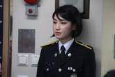 """Những """"bóng hồng"""" trên tàu huấn luyện Hàn Quốc đến Đà Nẵng"""