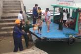 Tin mới nhất về bão số 7: Hối hả đưa khách du lịch vào đất liền
