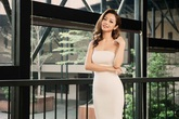 Jennifer Phạm khoe vai trần thon gầy gợi cảm