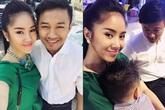 Quý Bình đi dự đám cưới với Lê Phương và con trai