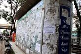 Bảo vệ tổ dân phố bị đánh hội đồng vì ngăn dán quảng cáo lên cột điện
