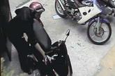 Clip chủ shop áo cưới bị trộm xe máy trong vòng chưa đầy 5 giây