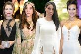 Mỹ nhân Việt cạnh tranh vẻ sexy với váy hở táo bạo